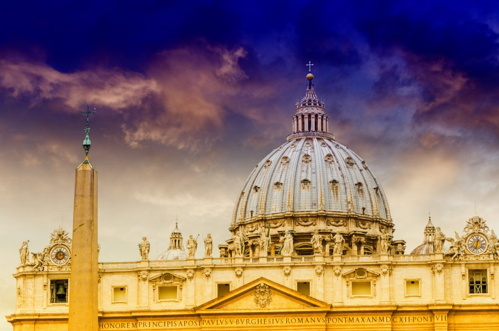 The Basilica of St. Peter, step one of our Visiting Rome in 2 Days itinerary