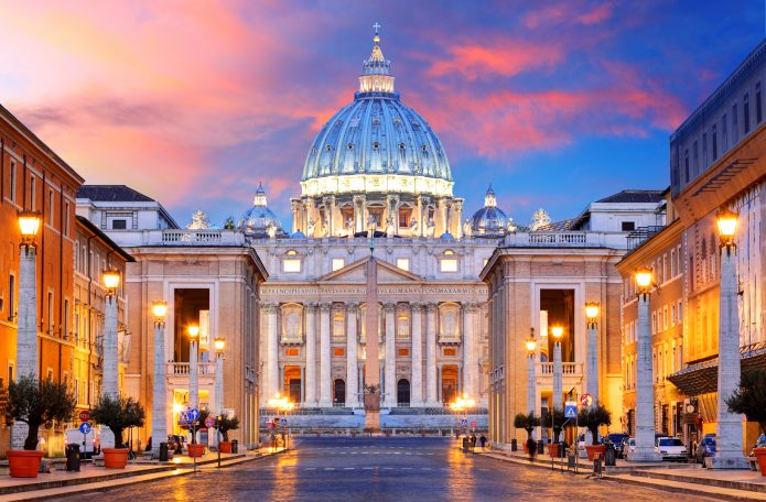 Visit rome in three days - the vatican city