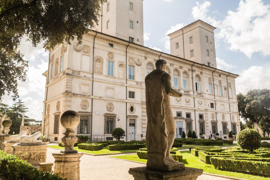 Visit the museums of Rome in 3 days: Galleria Borghese