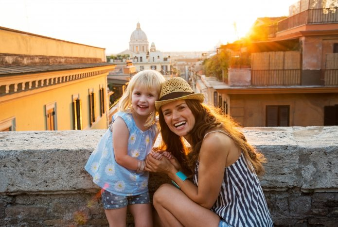 Visiting Rome with children, what to do