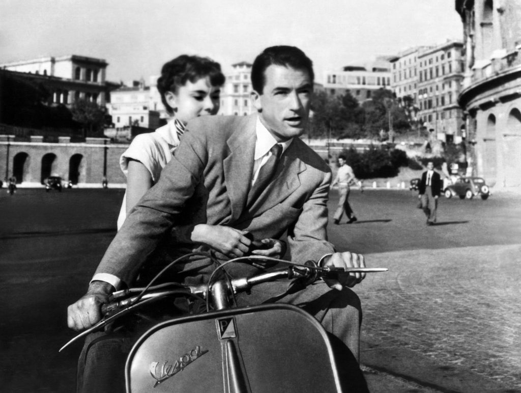 Vacanze romane, one of the movies Set in Rome