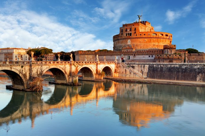 Visit Rome in 4 days: Castel Sant'Angelo